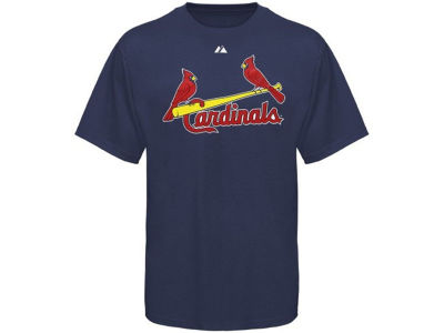 St. Louis Cardinals Majestic MLB Men's Official Wordmark T-Shirt