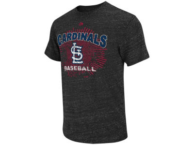St. Louis Cardinals Majestic MLB Atmosphere Fashion T-Shirt