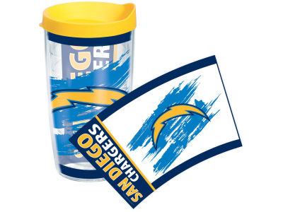 San Diego Chargers 16oz Wrap Tumbler With Lid