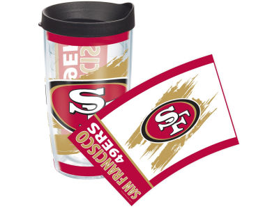 San Francisco 49ers 16oz Wrap Tumbler With Lid