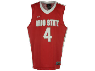 Ohio State Buckeyes #4 NCAA Youth Replica Basketball Jersey
