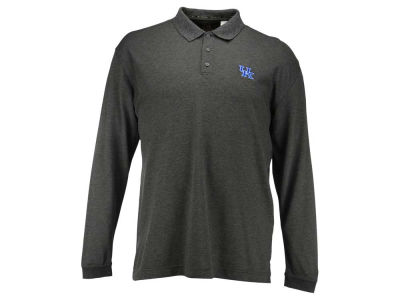 Kentucky Wildcats NCAA Dry Tech Long Sleeve Champ Polo