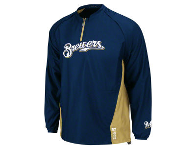 Milwaukee Brewers Majestic MLB Youth 3pk Gamer Jacket