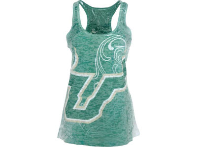 South Florida Bulls Blue 84 NCAA Womens Blowout Mascot Sub Tank