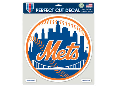 New York Mets Die Cut Color Decal 8in X 8in