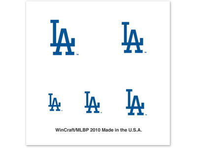 Los Angeles Dodgers Tattoo Nail
