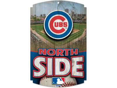 Chicago Cubs 11x17 Wood Sign