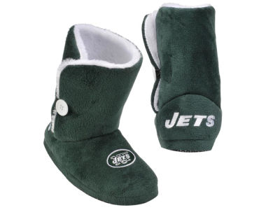 New York Jets NFL Womens Boot Slippers