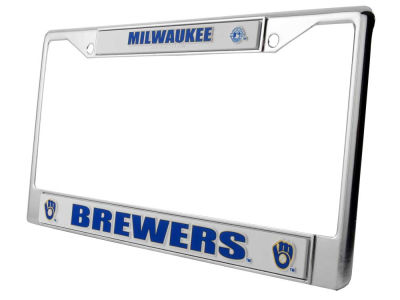 Milwaukee Brewers Chrome Frame