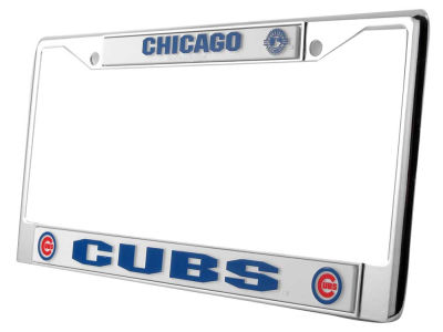 Chicago Cubs Chrome Frame