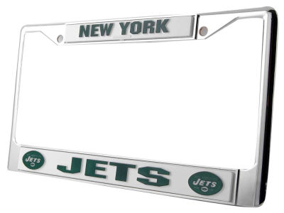 New York Jets Chrome Frame