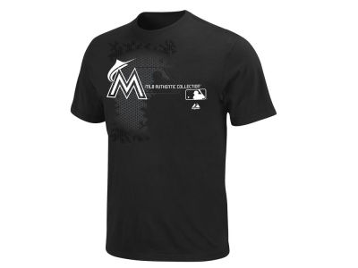 Miami Marlins Majestic MLB Youth AC Change Up T-Shirt