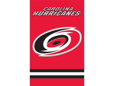 Carolina Hurricanes Applique House Flag