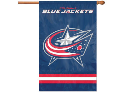Columbus Blue Jackets Applique House Flag