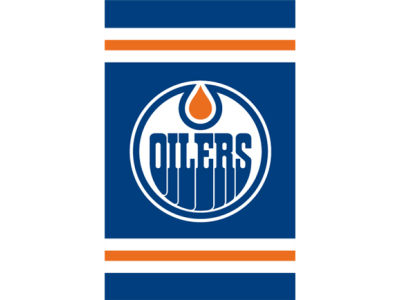 Edmonton Oilers Applique House Flag