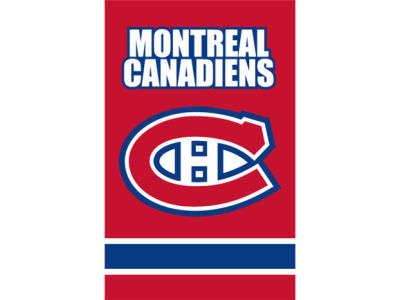 Montreal Canadiens Applique House Flag
