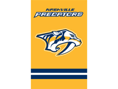 Nashville Predators Applique House Flag