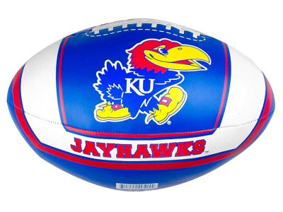 Kansas Jayhawks Softee Goaline Football 8inch