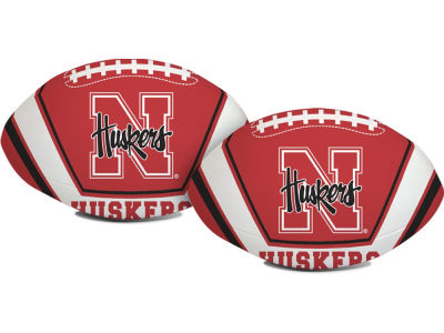 Nebraska Cornhuskers Softee Goaline Football 8inch