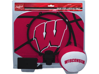 Wisconsin Badgers Slam Dunk Hoop Set