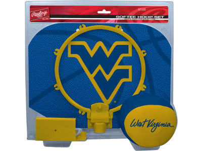 West Virginia Mountaineers Slam Dunk Hoop Set