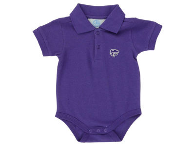 Kansas State Wildcats NCAA Newborn Polo Romper