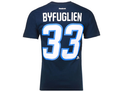 Winnipeg Jets Dustin Byfuglien Reebok NHL CN Player T-Shirt