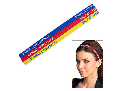 Kansas Jayhawks Elastic Hair Band