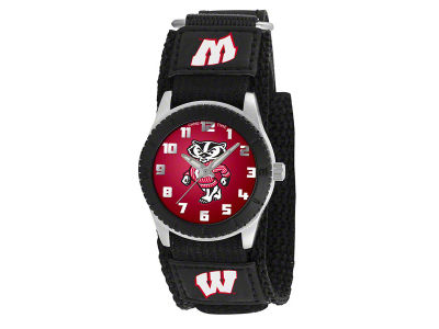 Wisconsin Badgers Rookie Kids Watch Black