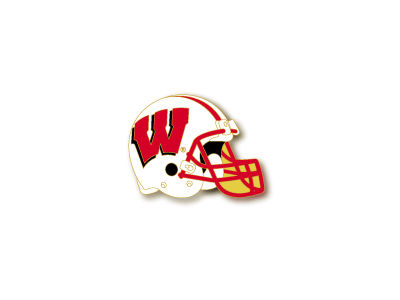 Wisconsin Badgers Helmet Pin