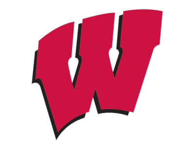 Wisconsin Badgers Die Cut Color Decal 8in X 8in