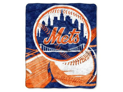 New York Mets 50x60in Sherpa Throw