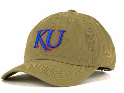 Kansas Jayhawks Top of the World NCAA Crew Adjustable Cap