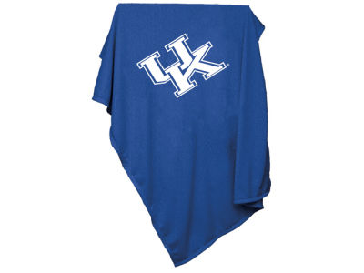 Kentucky Wildcats Logo Brands NCAA Sweatshirt Blanket