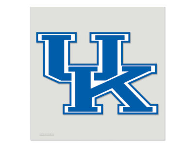 Kentucky Wildcats Die Cut Color Decal 8in X 8in