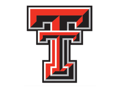 Texas Tech Red Raiders Die Cut Color Decal 8in X 8in