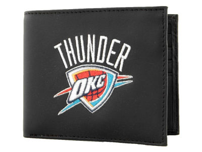 Oklahoma City Thunder Black Bifold Wallet