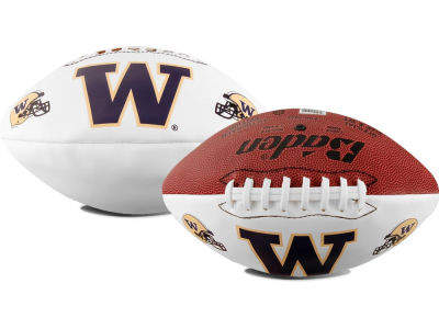 Washington Huskies NCAA Autograph Football