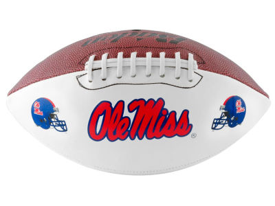 Ole Miss Rebels NCAA Autograph Football