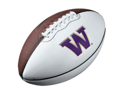Washington Huskies Nike Nike Pee Wee Autograph Football