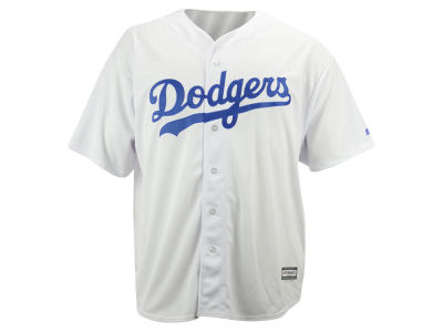 Los Angeles Dodgers MLB Men's Blank Replica Cool Base Big & Tall Jersey