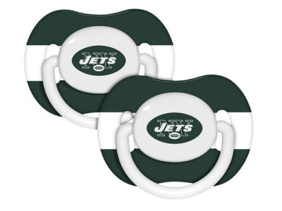 New York Jets 2-pack Pacifier Set