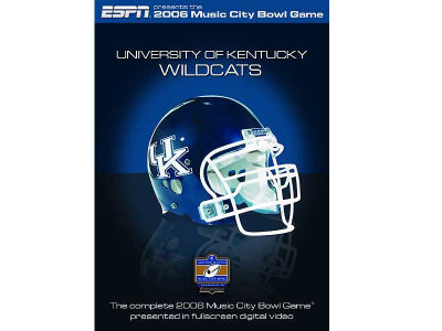 Kentucky Wildcats 2006 Music City Bowl