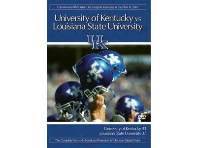 Kentucky Wildcats 2007 Kentucky vs LSU