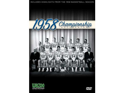Kentucky Wildcats 1958 Championship Documentary DVD