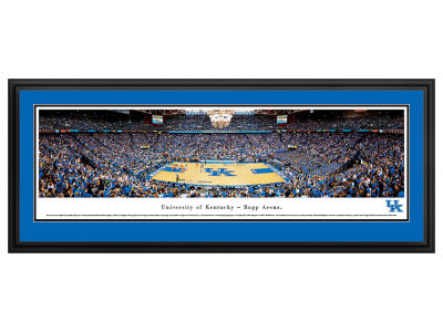 Kentucky Wildcats Panoramic Deluxe Framed