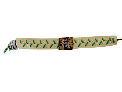 San Diego Padres Team Color Baseball Bracelet