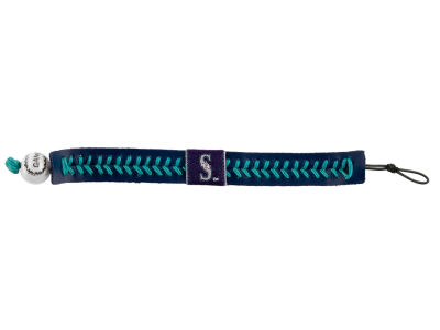 Seattle Mariners Team Color Baseball Bracelet