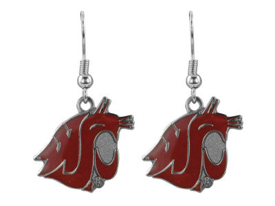 Washington State Cougars Logo Earrings