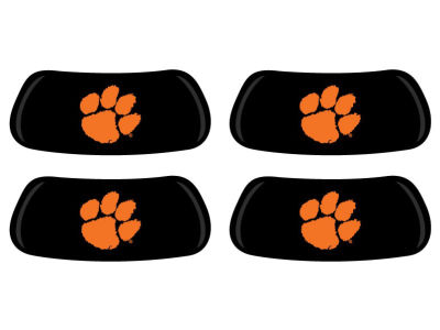 Clemson Tigers 2 Pair Eyeblack Sticker